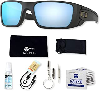 Oakley Fuel Cell OO9096 Sunglasses Bundle with original case, and accessories (6 items)