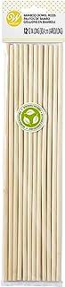 Tiges de Goujon en Bambou pour Gâteaux, Pack de 12