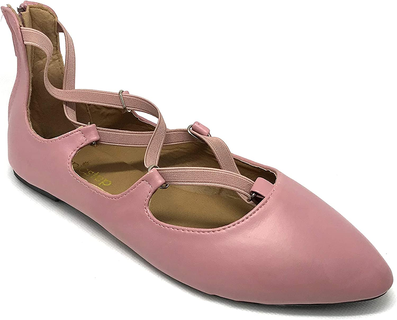 Susan 18 Stylish Elastic Ballet Flats for Women; Comfortable shoes for Women