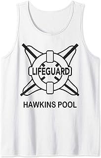 Netflix Stranger Things Hawkins Pool Lifeguard Logo Débardeur