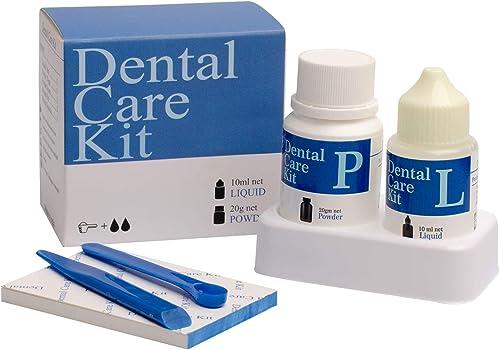 Mastermedi Zinc Oxide Eugenol Cement Dental Care Kit Glue For Crowns & Bridges Filling