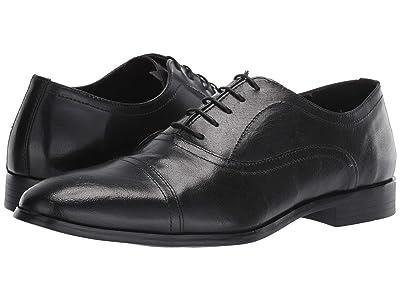 Steve Madden Offisir (Black Leather) Men