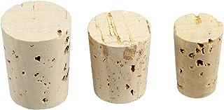 """Rayher bouchon conique en un lot de 36 €"""" bouchon en liège naturel destiné à la mise en bouteille des vins, des jus de fr..."""