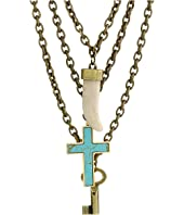 DSQUARED2 - Triple Charm Necklace