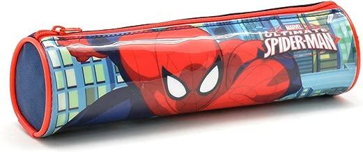 Spiderman Estuche Tela Cilindro Spiderman Estuches, 22 cm, Multicolor: Amazon.es: Equipaje