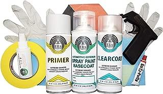 ERA Paints for Dodge Grand Caravan 2011-2012 (PVG Mango Tango Pearl) Automotive Spray Paint Clearcoat Primer and Pro Kit