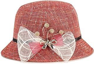 HongJie Hou Summer Sunhat Sun hat (Color : Grey, Size : 56-58cm)