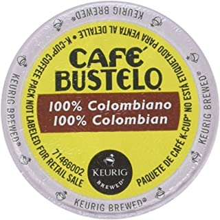 Café Bustelo, Colombian, Single Serve Coffee K-Cups, 48-Count For Brewers