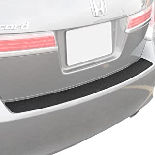 Custom Fit 2008-2012 Compatible with Honda Accord Sedan 4dr 1pc Rear Bumper Scuff Scratch Protector Protect Paint Protection Guard