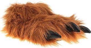 SAMs - Pantoufles peluche animal monstre avec griffes - Unisexe -36-47 - TH-MK
