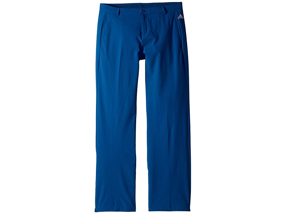 Image of adidas Golf Kids Solid Golf Pants (Little Kids/Big Kids) (Dark Marine) Boy's Casual Pants