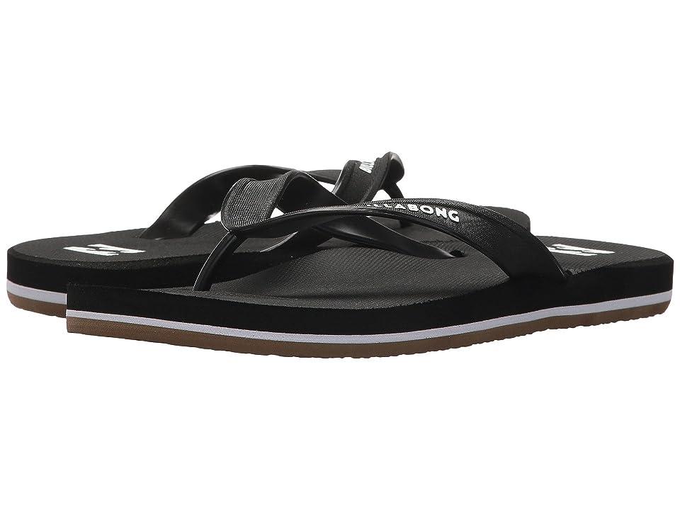 Billabong All Day Solid Sandal (Black 1) Men