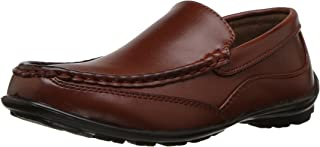 Kid's Booster Driving Moc Style Dress Comfort Loafer...