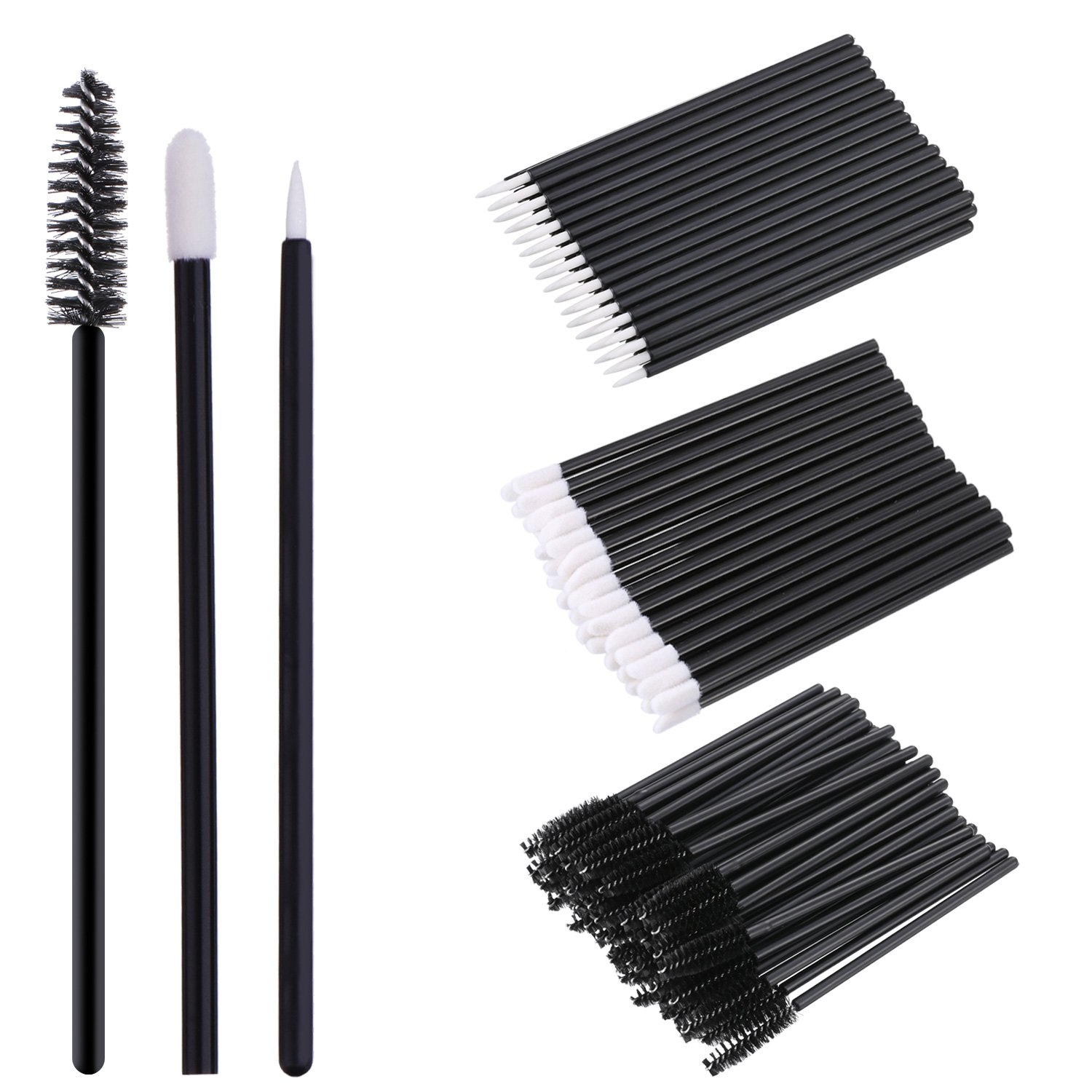 eBoot 150 Pieces Disposable Lip Brushes Nippon regular agency Lipstick Applicato Gloss Sale price