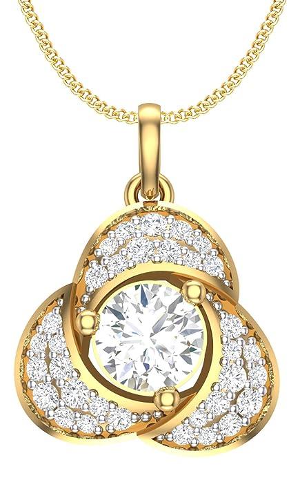 Clara Silvo 18K Gold Plated Sterling Silver Aara Pendant