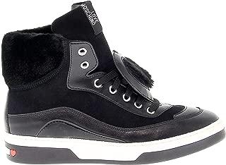 Luxury Fashion Womens 15343 Black Hi Top Sneakers   Season Permanent