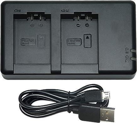 Cámara de batería cargador Micro USB para Panasonic Lumix dmc-bmb9 dmw-bmb9e