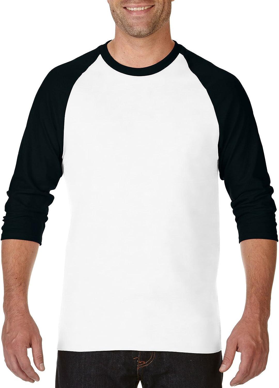 Fashion Gildan 5700 Heavy Cotton Raglan T-Shirt