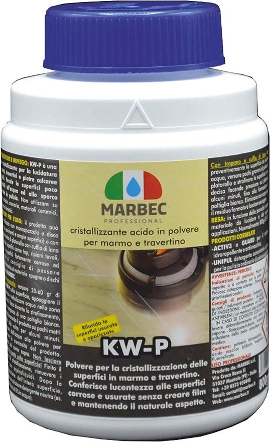 22 opinioni per Marbec- KW-P 800GR   Cristallizzante acido in polvere per la lucidatura dei