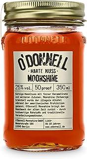 "O""Donnell Moonshine ""Harte Nuss"" Likör 350 ml I Made in Germany I Natürliche Zutaten I Premium Haselnuss Schnaps nach Amerikanischer Tradition I 25% Vol. Alkohol"