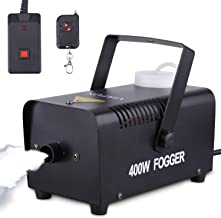 Portable Halloween and Party Fog Machine with Wireless Remote Control, VIRFUN Smoke..