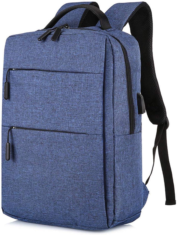 Aihifly Aihifly Aihifly Doppelter Rucksack USB-Ladeanschluss für Männer und Frauen 15.6 Laptop-Rucksack Wasserdicht (Farbe   Blau) B07PZT85VM  Nutzen Sie Materialien voll aus 35e216