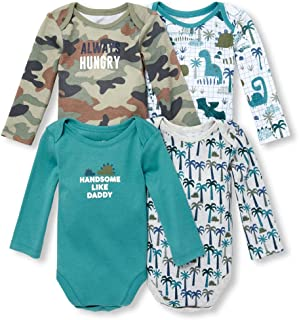 The Children's Place Baby Boys Graphic Printed Layette Set