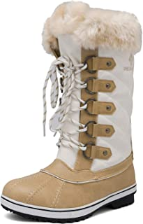 Women's Mid-Calf Winter Snow Boots