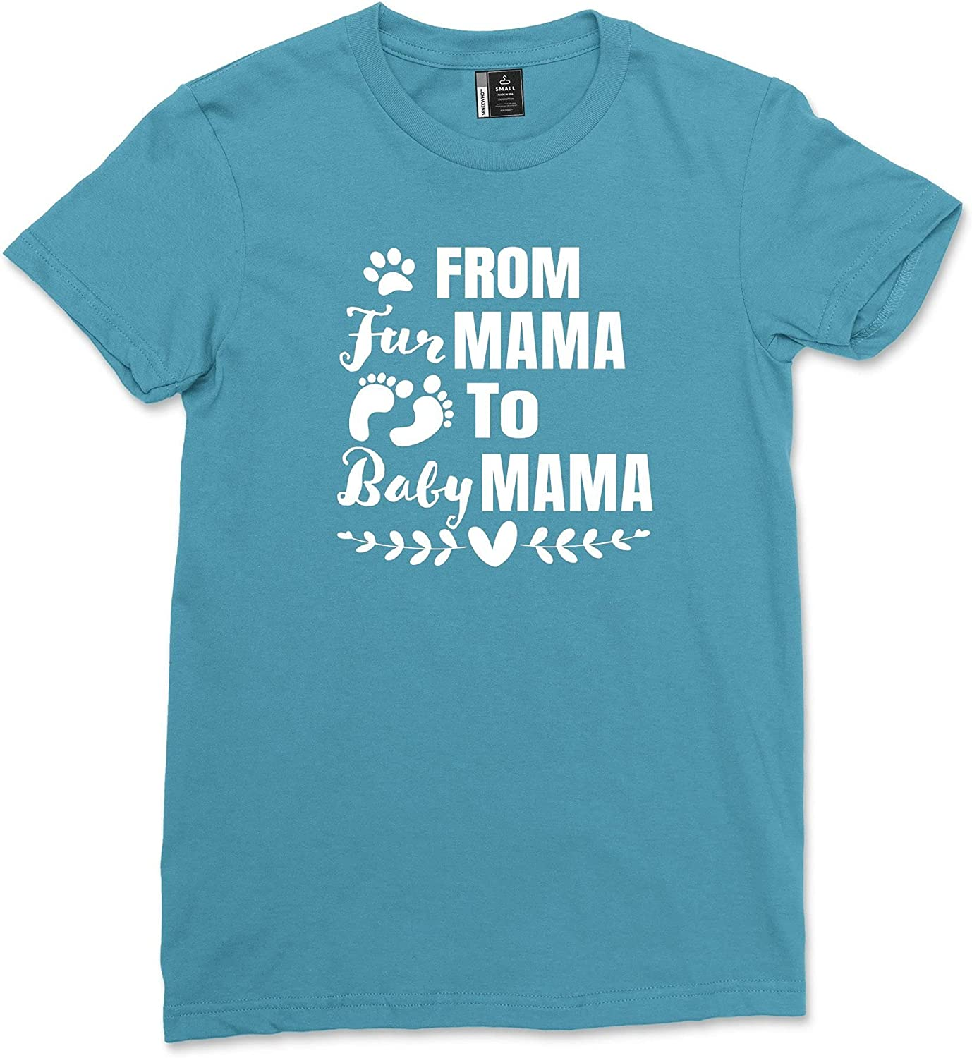 SFNEEWHO from Fur Mama to Women A Pregnancy Sales Shirt Baby sale