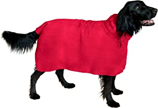 THE SNUGGLY DOG Easy Wear Dog Towel. Luxuriously Soft, Fast Drying 400gsm Microfiber...