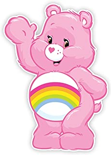 Cheer Care Bear Iron On Transfer for T-Shirts & Other Light and Dark Color Fabrics #10 Divine Bovinity
