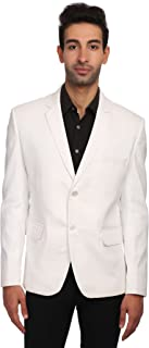 Men's Linen Tailored Fit Solid Evening/Casual Blazer Coat Jacket : Multiple Colors Inside
