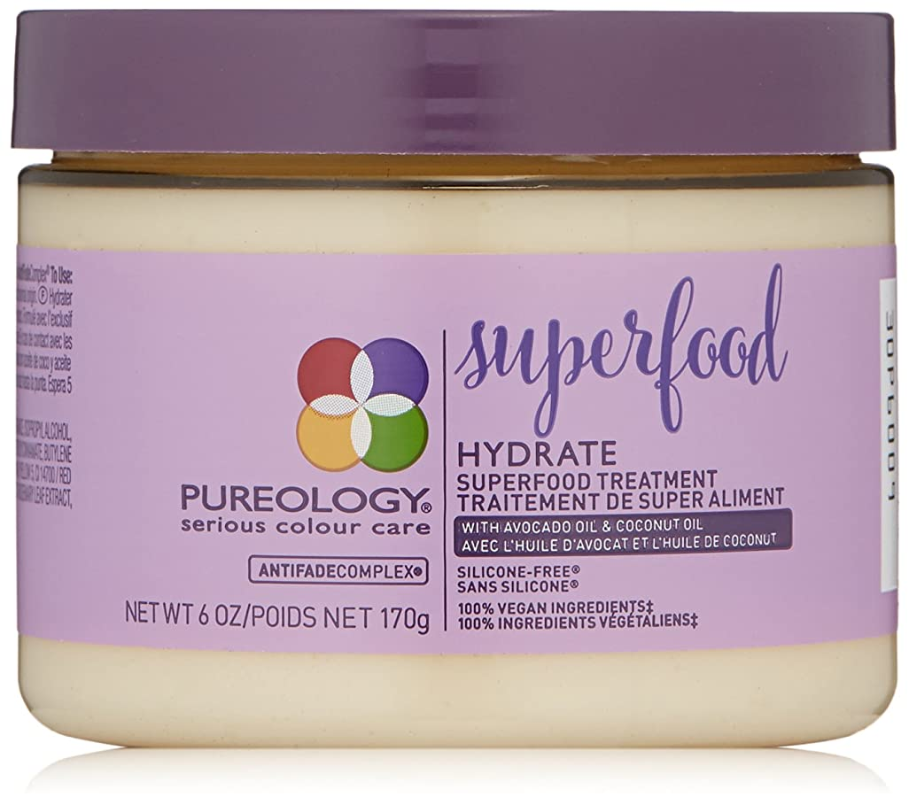 目立つ対処する罪Hydrate by Pureology Superfood Vitality Treatment Mask 170g