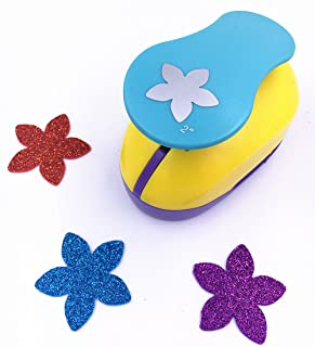 TECH-P Creative Life 2-Inch Large Paper Craft Punch,card Scrapbooking Engraving Kid Cut DIY Handmade Hole Puncher.-Lucky Flower