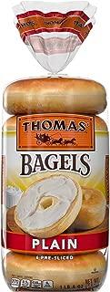 Thomas' Plain Bagels, 6 Count per pack, 20 Ounce