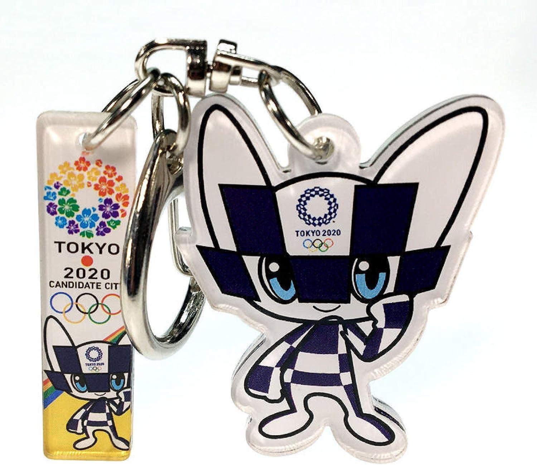 SZLGPJ Olympic Keychain Mascot Acrylic Souv In stock free shipping Pendant Car