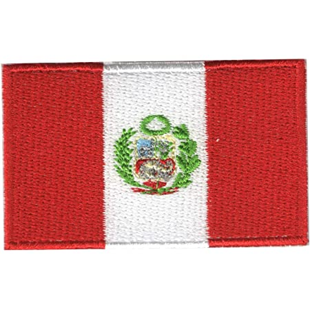 Country Shield Patches Peru