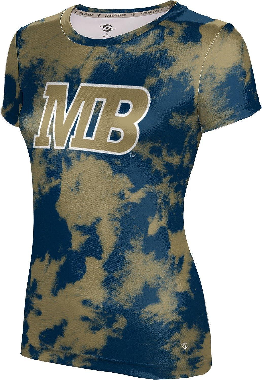 California State University Monterey Bay Girls' Performance T-Shirt (Grunge)