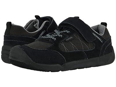 Merrell Kids Bare Steps Alpine Sneaker (Little Kid) (Black) Boy