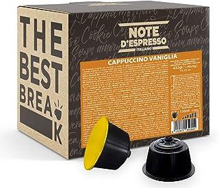 Note d'Espresso - Cappuccino Vanille - Capsules Exclusivement Compatibles avec les Machines NESCAFE* DOLCE GUSTO* - 48 caps