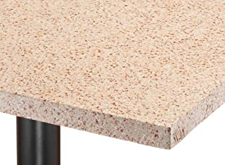 Miles Kimball 1377-247 Granite Vinyl Elasticized Banquet Table Cover Tan