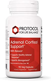 Protocol For Life Balance - Adrenal Cortisol Support with Relora - Supports Healthy Adrenal Response, Appetite Management,...