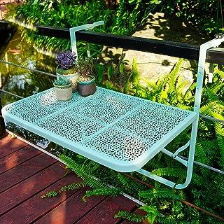 NanXi Table De Balcon Suspendue Table Murale Rabattables, Table Basse De Loisirs, Support De Rangement De Cuisine De Salle...