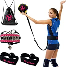 Volleyball Training Equipment Aid - Practice Your Serving, Setting & Spiking with Ease, Great Solo Serve & Spike Trainer f...