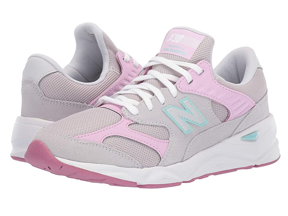 New Balance Kids GSX90Rv1 (Big Kid) (Summer Fog/Crystal Rose) Girls Shoes