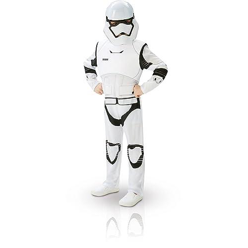 Rubieu0027s Official Child Star Wars Stormtrooper Deluxe Costume   Medium