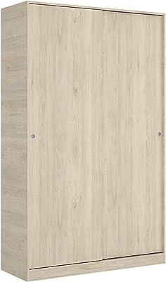 Habitdesign LCX323R - Armario ropero de Tres Puertas y Tres cajones, Color Roble, Medidas 121 cm (Largo) x 180 cm (Alto) x 52 cm (Fondo): Amazon.es: Juguetes y juegos