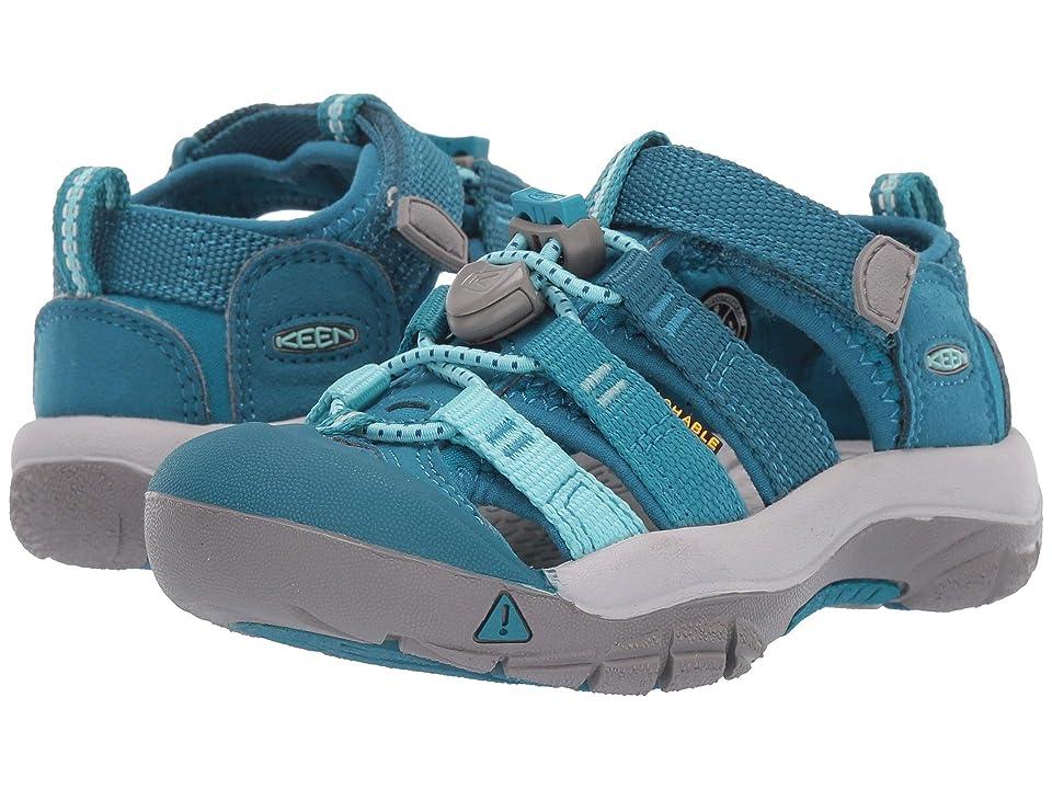 Keen Kids Newport H2 (Toddler/Little Kid) (Deep Lagoon/Tahitian Tide) Girls Shoes