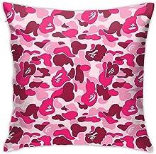 Purple Bape Shark Pillow Case Sofa Cushion Cover
