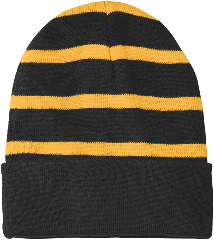 Our shop OFFers the Price reduction best service Joe's USA Fleece Lined Stripe 16 Colors Beanies in